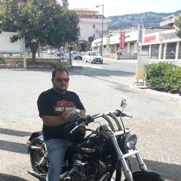 Alex Harley, 39, Lamezia, Italy