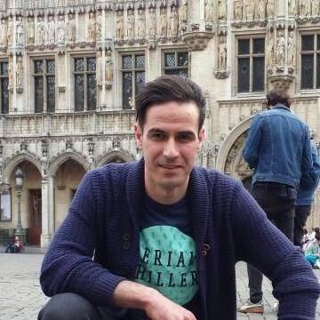 Mostapha El Kaddouri, 32, Ath, Belgium