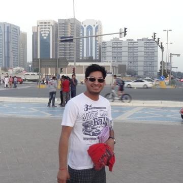 Anurag Agarwal, 28, Abu Dhabi, United Arab Emirates
