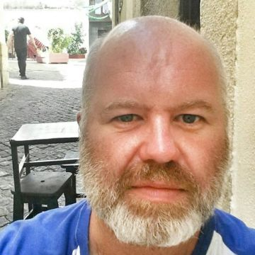Dave Harwood, 45, Madrid, Spain