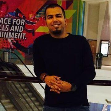 Ranjit Mohan, 32, Dubai, United Arab Emirates
