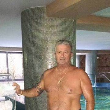 Pino D'Ambrosio, 59, Bari, Italy