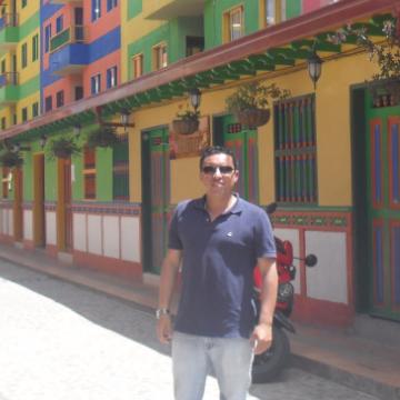 German Fernandez Garzon, 35, Bogota, Colombia