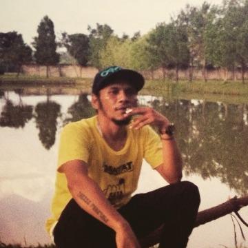 Alves Fonataba, 39, Jakarta, Indonesia