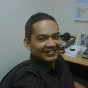 Chandra Florian, 47, Jakarta, Indonesia