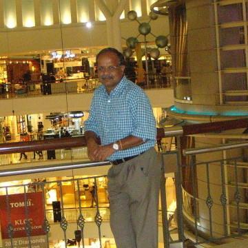 Kini M, 59, Coimbatore, India