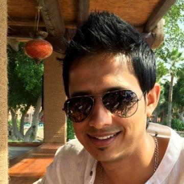 Mayank Ashok, 29, Dubai, United Arab Emirates