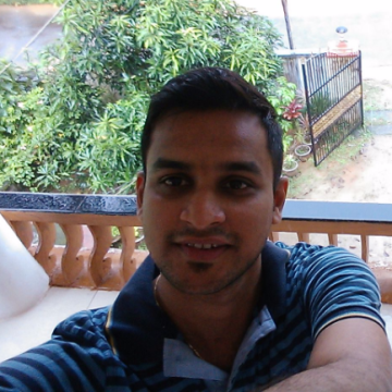 Justin Mathew, 28, Calicut, India