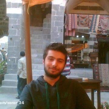 Mustafa Cinviz, 28, Istanbul, Turkey
