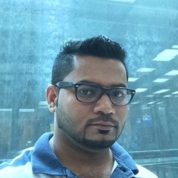 Dinesh Hegde, 30, Dubai, United Arab Emirates