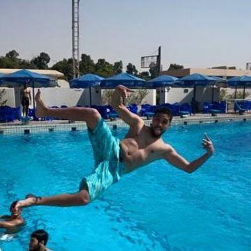 Ibrahim , 23, Cairo, Egypt