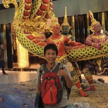 Amp, 40, Tha Ruea, Thailand