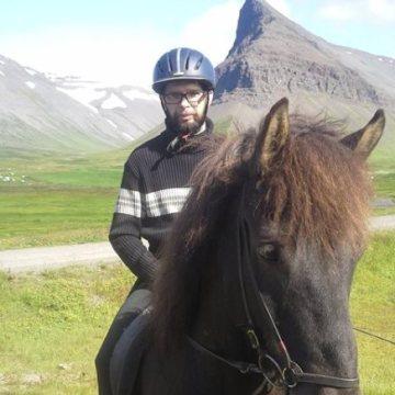 Ragnar  Sigurbjornsson, 41, Reykjavik, Iceland