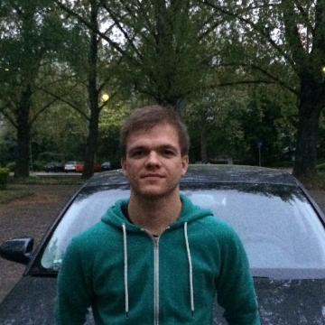 Vitaliy Shulha, 24, Frankfurt am Main, Germany