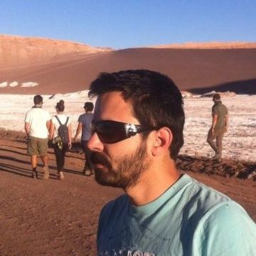Diego Gomez, 32, Santiago, Chile