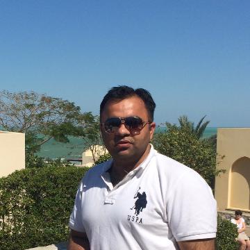 Akhil Satija, 29, Dubai, United Arab Emirates