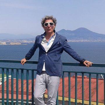 Roberto Adhiraj, 53, Napoli, Italy