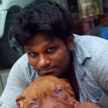 Sham Vinoth, 30, Chennai, India