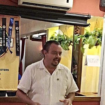 Benjamin Aguilera, 45, Cancun, Mexico