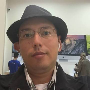 Jorge Andrés Rodríguez, 38, Bogota, Colombia