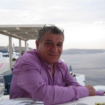 Mercourios Makrinakis, 50, London, United Kingdom
