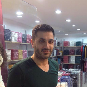 Cihan Arslan, 34, Istanbul, Turkey