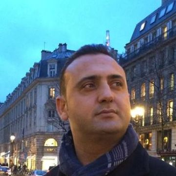 Tufan Tuna, 40, Paris, France
