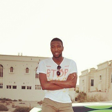 sesay, 28, Dubai, United Arab Emirates