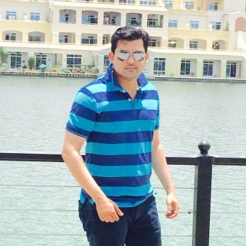 Anjan Kulkarni, 28, Dubai, United Arab Emirates