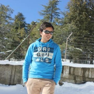 Zaid Azmi, 26, New Delhi, India