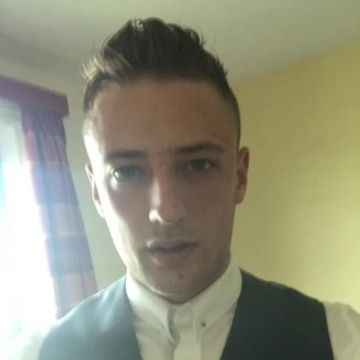 Conner Stevenson, 25, Leicester, United Kingdom