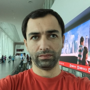 Izatullo Nurulloev, 35, Dubai, United Arab Emirates