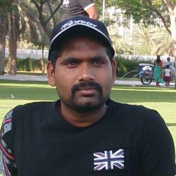 Elangovan Durai, 33, Dubai, United Arab Emirates