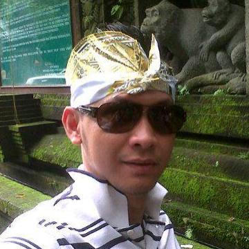 Lewis Rizal, 37, Samarinda, Indonesia