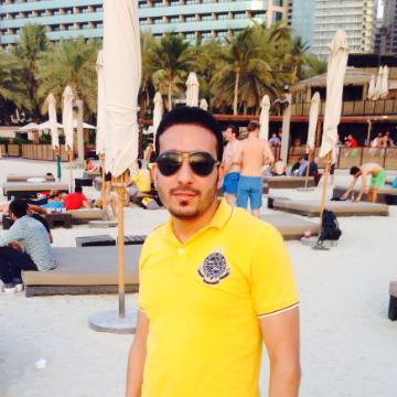 Hamdy Sayed, 32, Dubai, United Arab Emirates