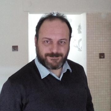 Mehmet Yazgan, 40, Bornova, Turkey