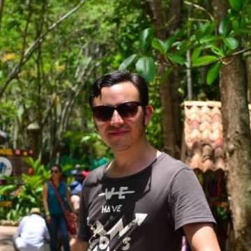 Juan Manuel Bernal, 33, Bogota, Colombia
