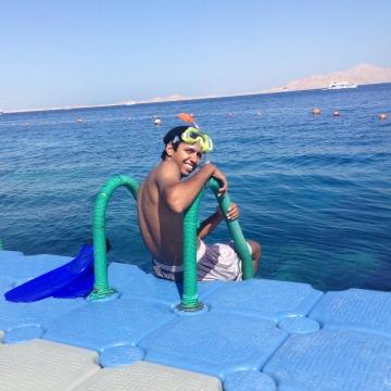Khaled Mohamed, 24, Sharm El-sheikh, Egypt