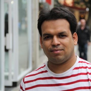 Shivanshu Baweja, 32, Swindon, United Kingdom