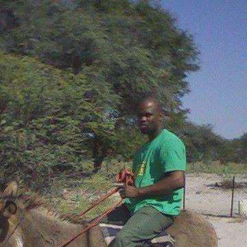 Simo Kabasiya, 38, Gaborone, Botswana