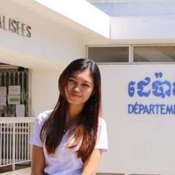Chakriya Sopheak, 20, Phnumpenh, Cambodia