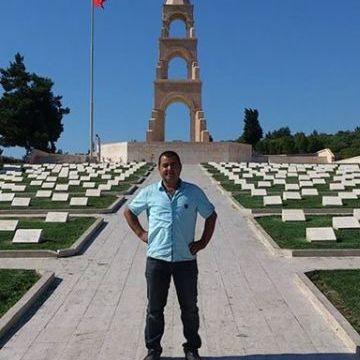 Saffet Tekinalp, 41, Izmir, Turkey
