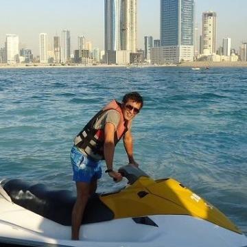 Robesh Budhani, 46, Dubai, United Arab Emirates