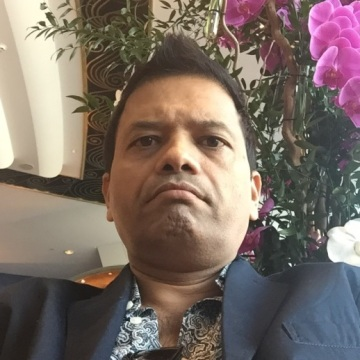 Rajesh Shah, 42, Dubai, United Arab Emirates