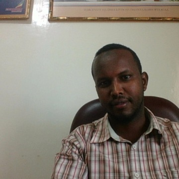 abdisalam Abdillahi Ali, 33, Hargeisa, Somalia