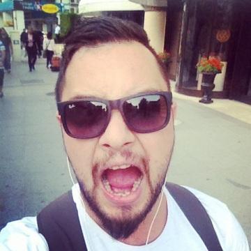 Gungor Akbal, 30, Istanbul, Turkey