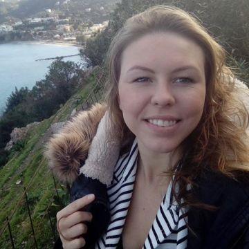 Irina Zingerman, 25, Athens, Greece