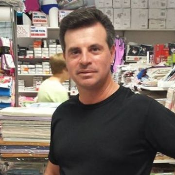 Massimiliano Tocchi, 43, Florence, Italy