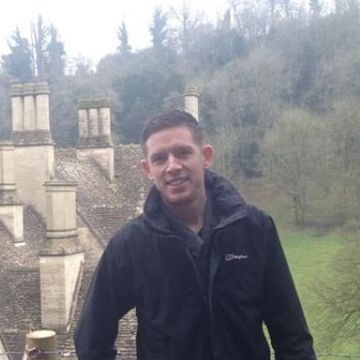 James Thorne , 29, Royal Leamington Spa, United Kingdom