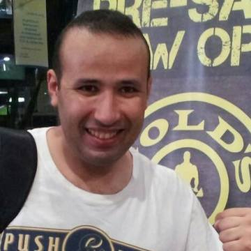 Mohamed El-sayed, 31, Cairo, Egypt